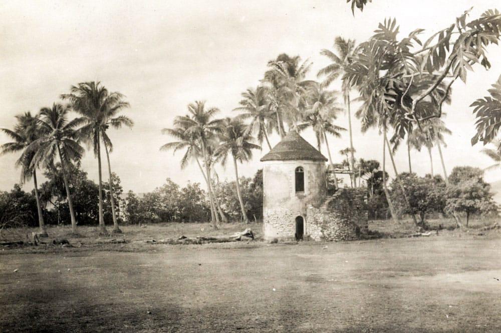 Tour du roi à Rikitea, île de Mangareva en 1934. mangarevan expedition