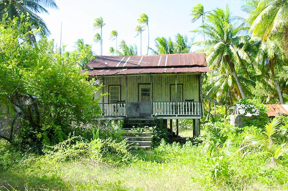 ancien village Maiai de Tikehau