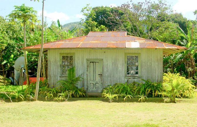 Vieille maison Martini de Taahuaia à Tubuai. © Tahiti Heritage