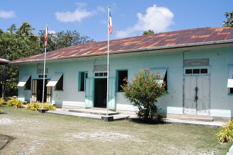 Ancienne mairie de Makatea © Tahiti Heritage