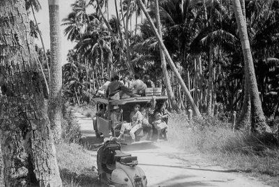 Truck à Moorea en 1965