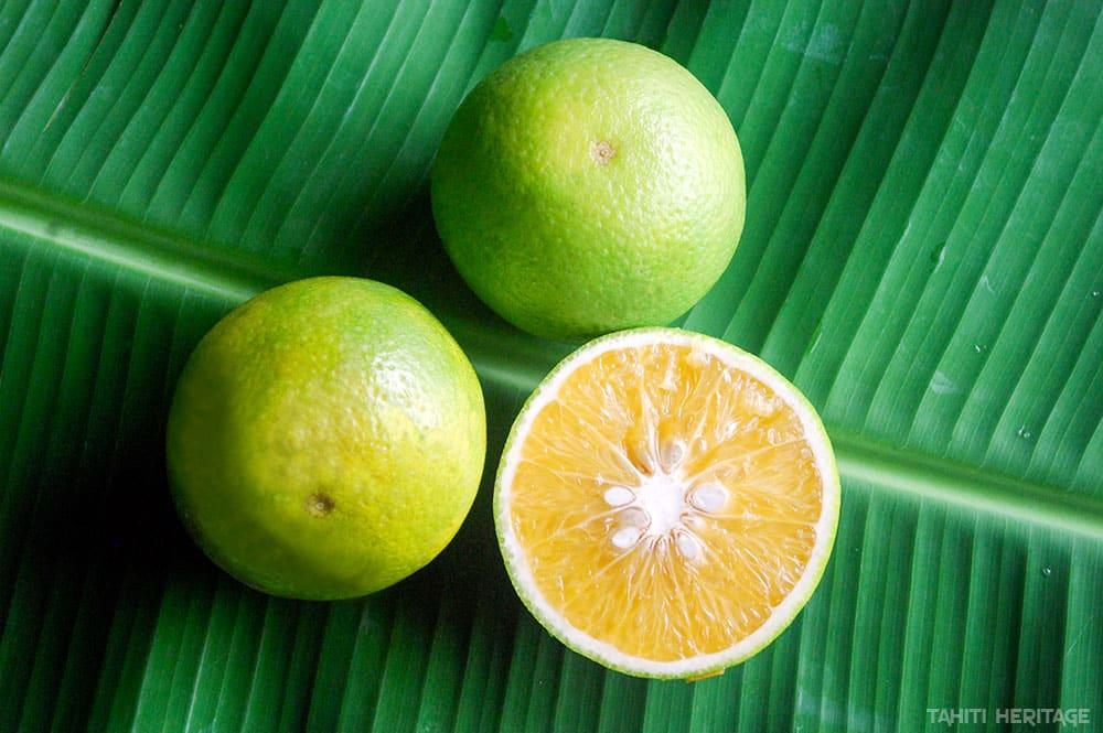 Orange verte de tahiti © Tahiti Heritage