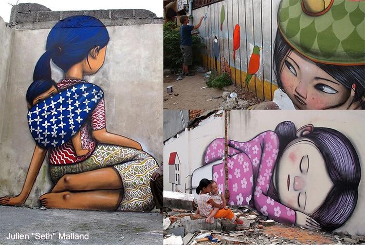 Street art de Seth