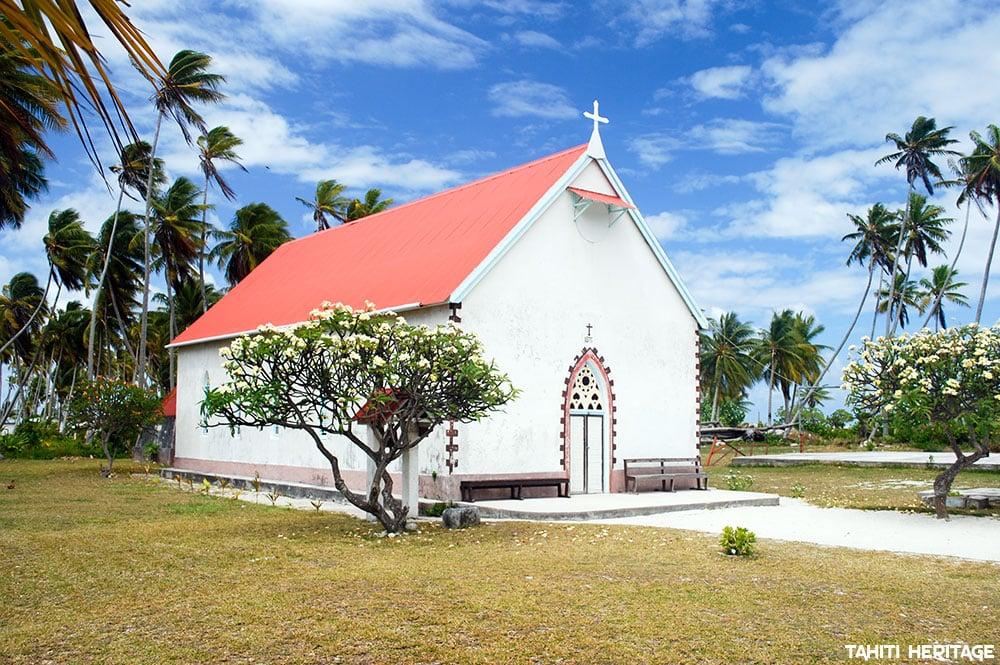Eglise de Raroia © Tahiti Heritage