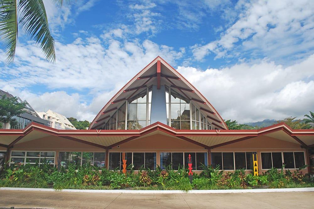 Assemblée de la Polynésie française, Papeete, Tahiti Photo Tahiti Heritage / Olivier Babin