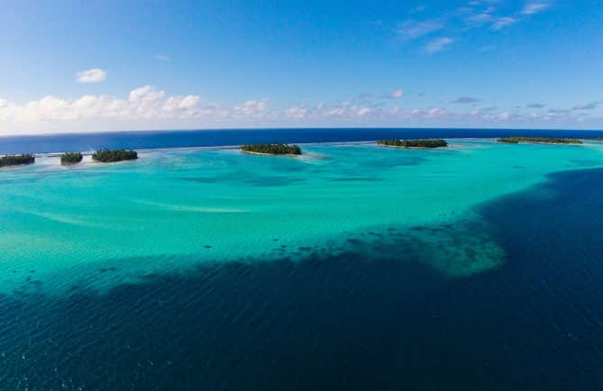 Lagon de Tahaa. Photo Pierre Lesage