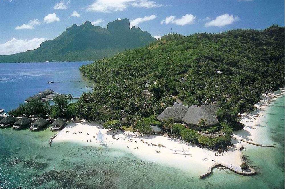 Hotel Bora Bora de Bora Bora en 1980