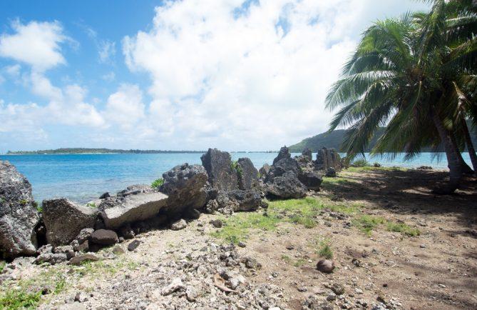 Marae Farerua de Bora Bora © Tahiti Heritage
