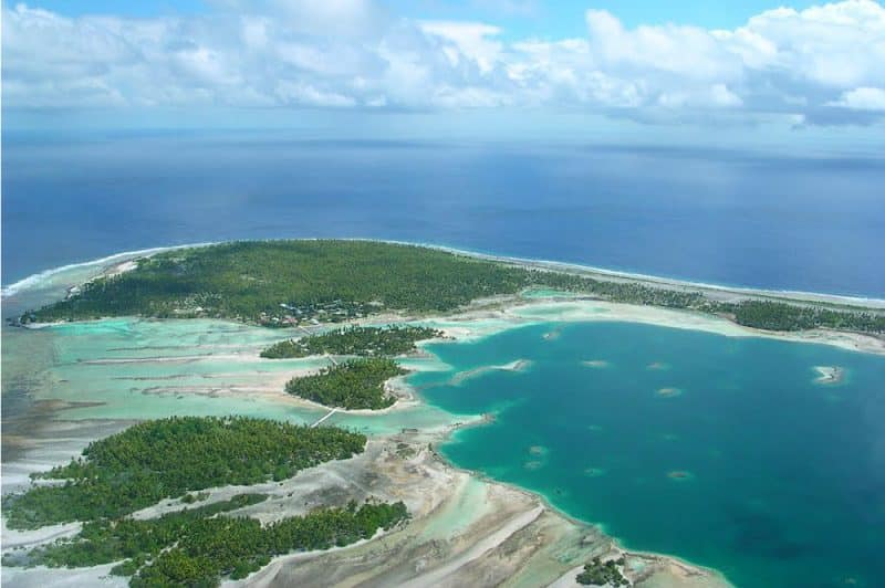 Atoll de Fangatau. Photo Mermoz