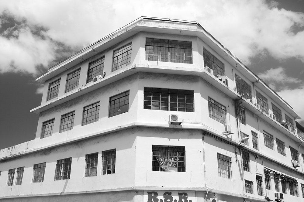 L'immeuble Grand Hôtel de Paofai, Papeete en 2011 © Tahiti Heritage