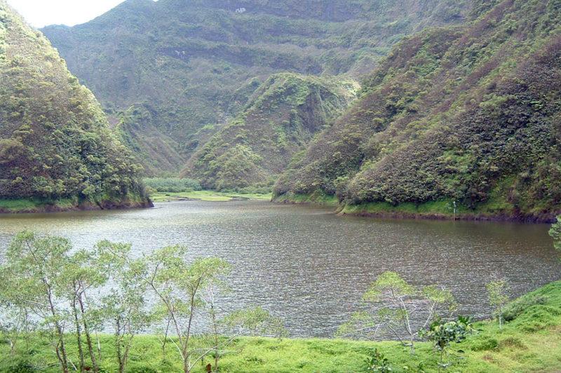 Lac Vaihiria, à Mataiea Tahiti. © Tahiti Heritage