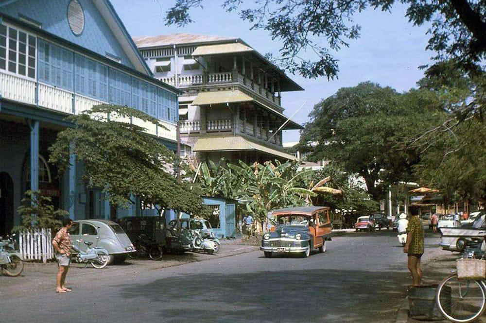 L'hotel Stuart de Papeete en 1963