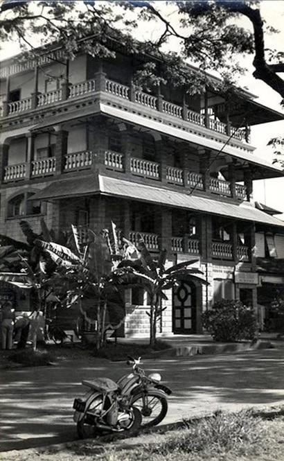 Papeete d 39 antan matisse et l 39 h tel stuart tahiti heritage for Matisse fenetre a tahiti
