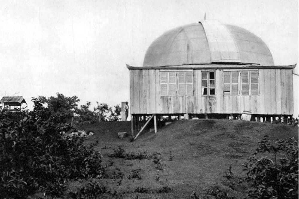 L'Observatoire du Mont Faiere à Papeete vers 1910