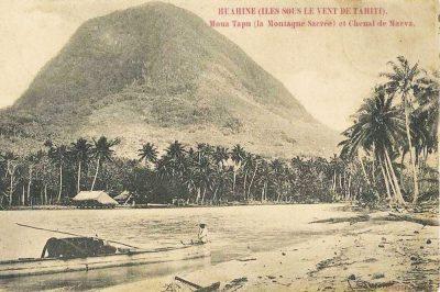 Moua à Huahine