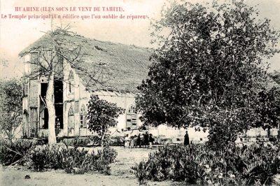 Ancien temple de Huahine