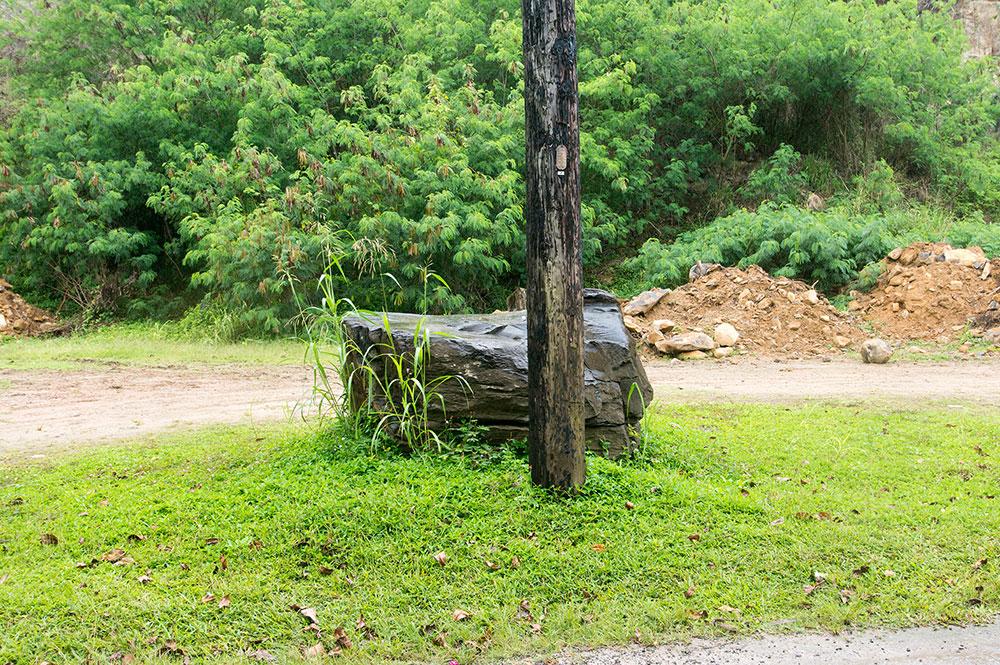 La pierre de Pipiri-Ma à Huahine