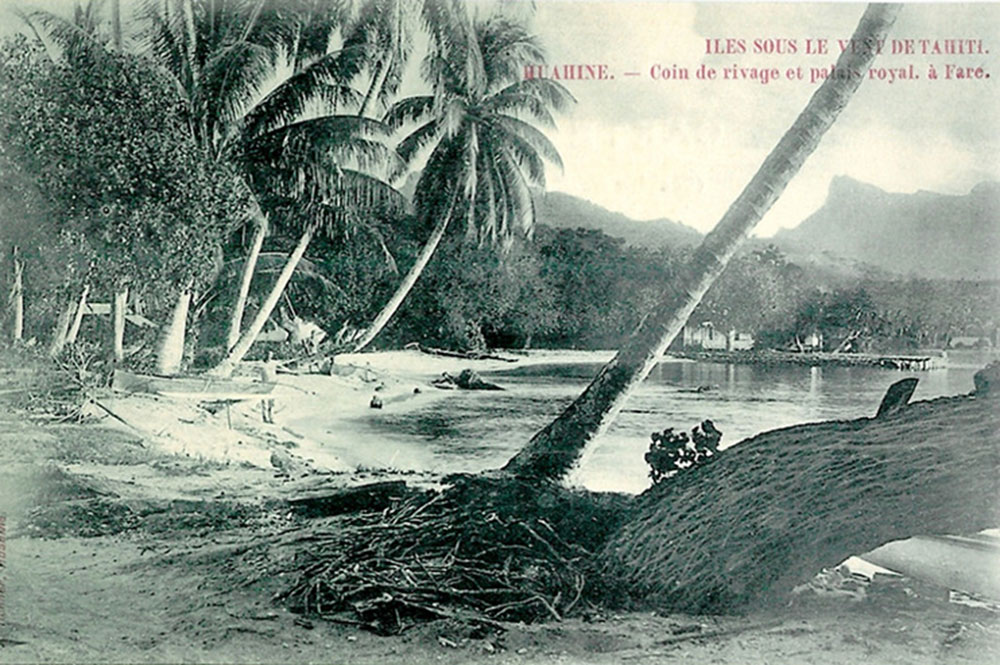 Plage de Huahine. Photo Itchner