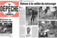 La Dépêche de Tahiti du 3 juin 2006