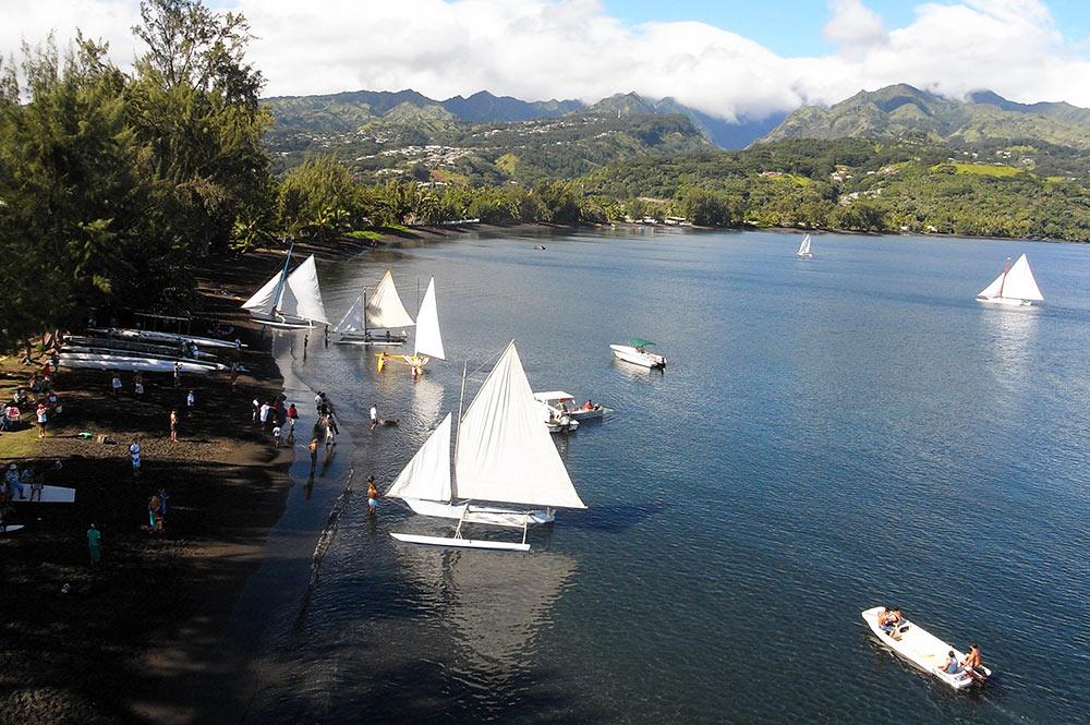 Baie de Matavai, Mahina, Tahiti. Photo Pierre Lesage