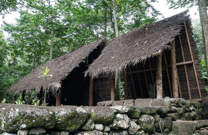 Site archéologique de Kamuihei à Nuku Hiva. Photo Rita Willaert
