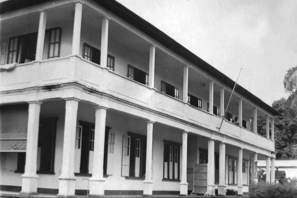 Maternité de Papeete dans les années 1960