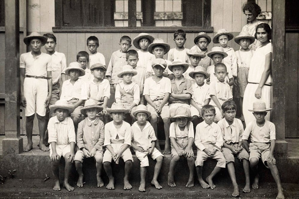 Ecole de garçons, Papeete 1926