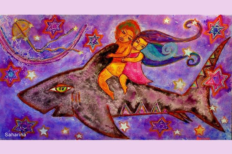 Légende de pipiri ma illustrée par Sarahina