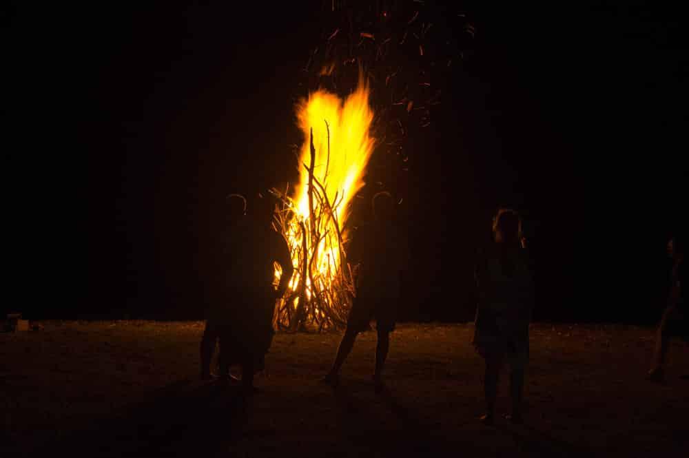 Arrivée du feu à la Terre des Hommes - Marquises
