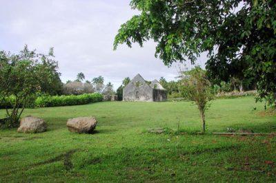 Couvent de Rouru, à Mangareva