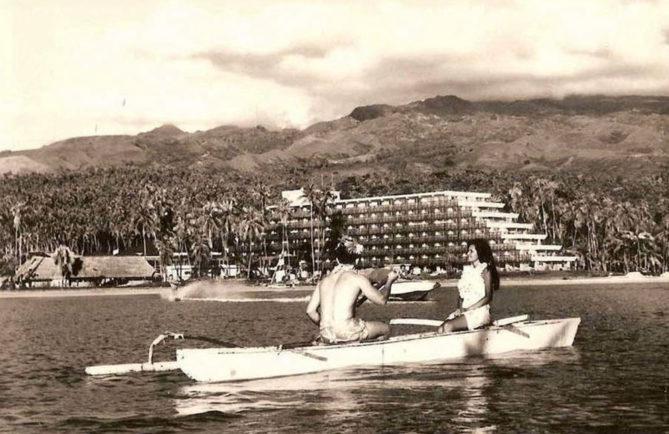 Ancien hôtel Maeva Beach, Punaauia, Tahiti