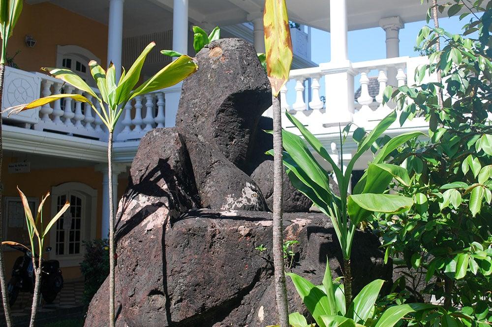 Statue de la reine Pomare IV, Mairie de Papeete