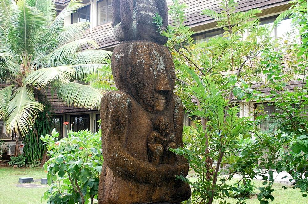 Tiki de la Mairie de Papeete