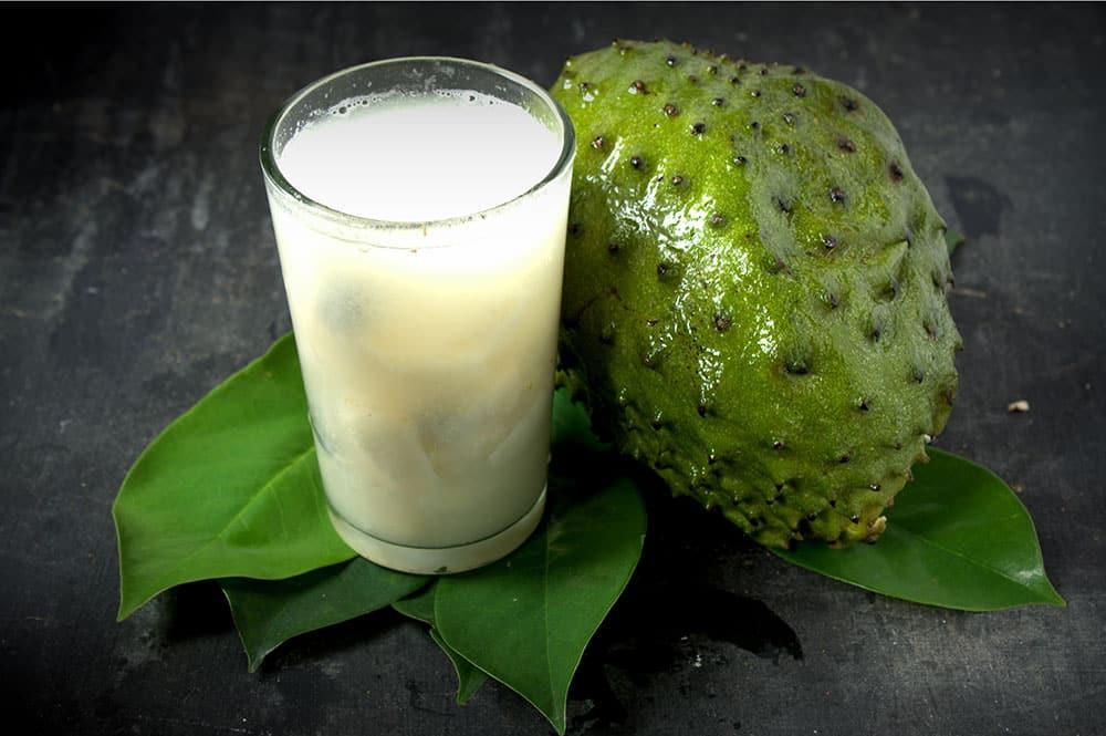 Jus de corossol - Soursop juice