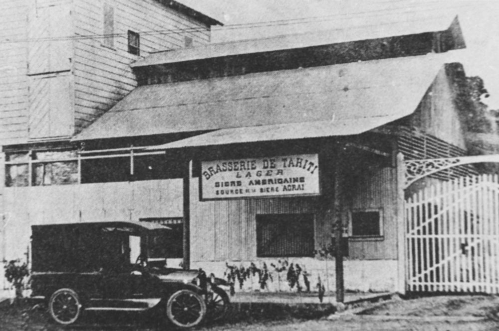 La Brasserie de Tahiti en 1918