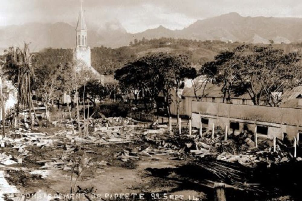 Bombardement de Papeete, le 22 septembre 1914
