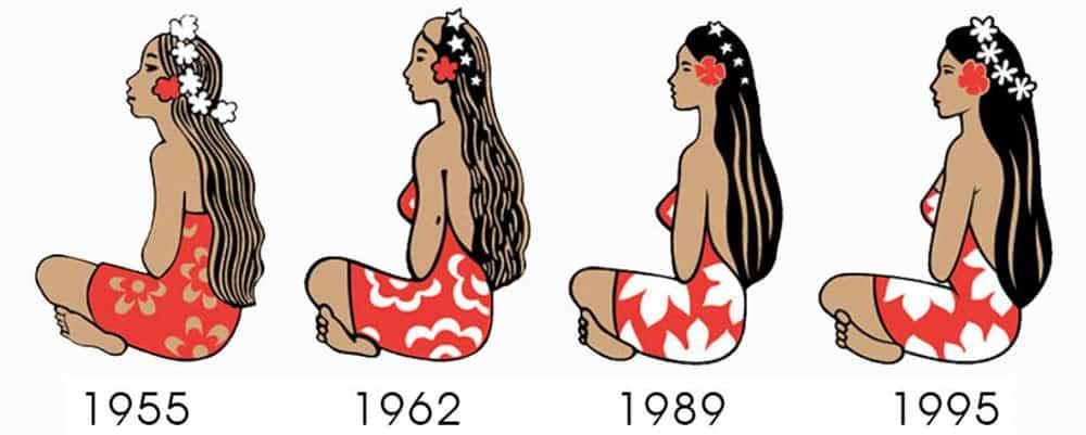 Logos de la bière Hinano - © Brasserie de Tahiti