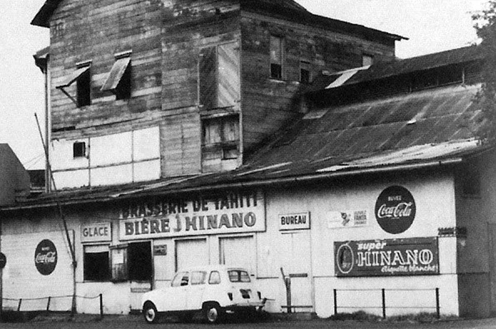 La Brasserie de Tahiti en 1968