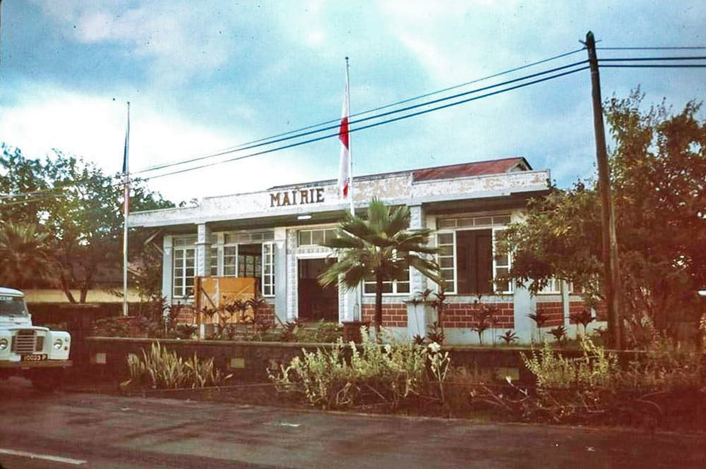 Mairie de Uturoa en 1980