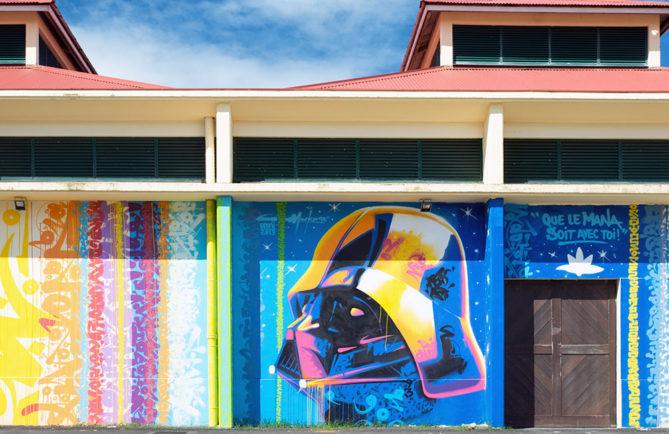 Street Art, Mana par Marko93, à Raiatea