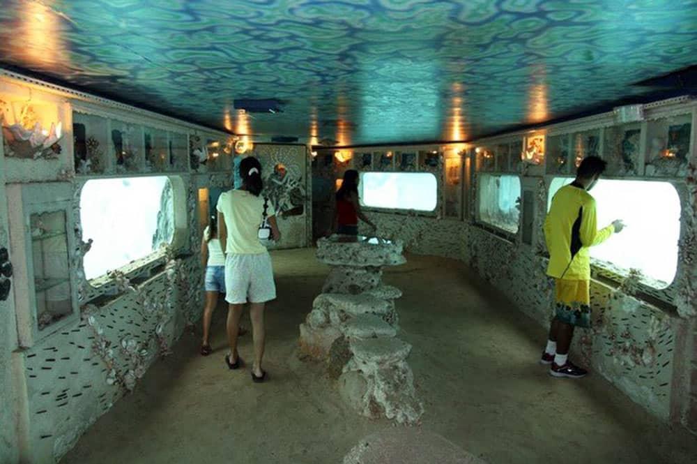 Intérieur du Lagonarium de Tahiti