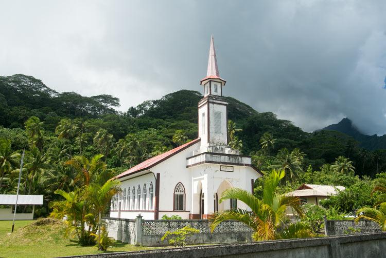 Temple protestant Peniela Raiatea