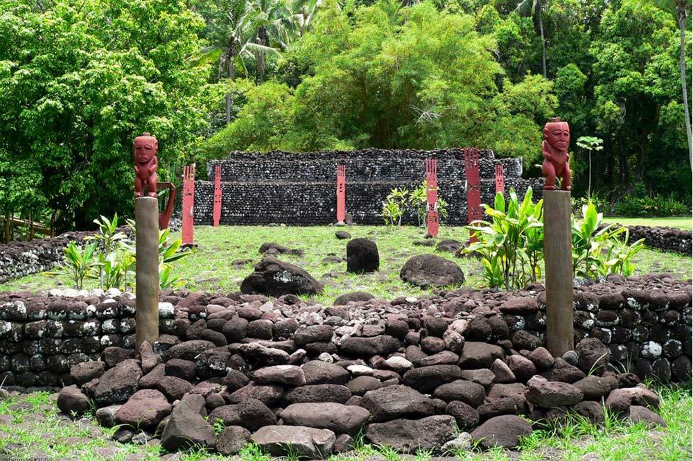 Marae Arahurahu de Paea