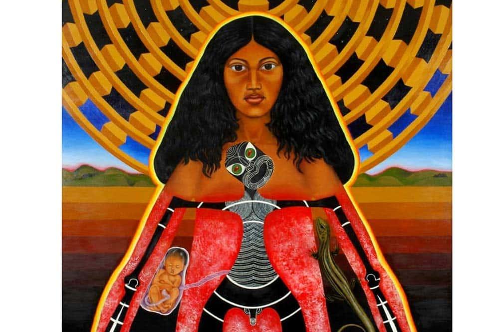 Légende de Maui qui affronte la déesse de la mort, Hine-nui-te-pō