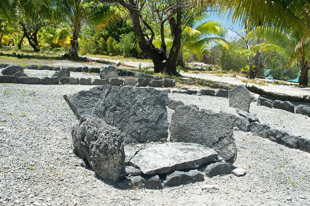 Trone de Tu à Mataiva © Tahiti Heritage