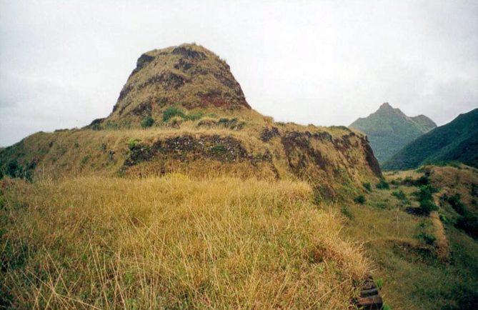 Pa, Fort de Morongo Uta de l'île de Rapa iti