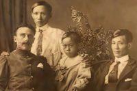 Nguyen Van Cam, dit Ký Dông et un fonctionnaire français
