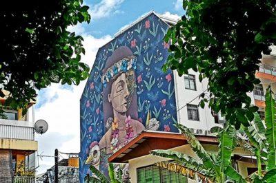 Street art Papeete, Pixel Pancho