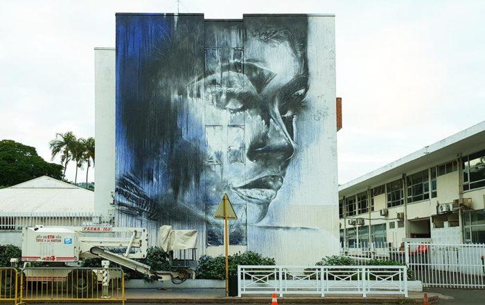 Street-art Papeete de Christina Angelina