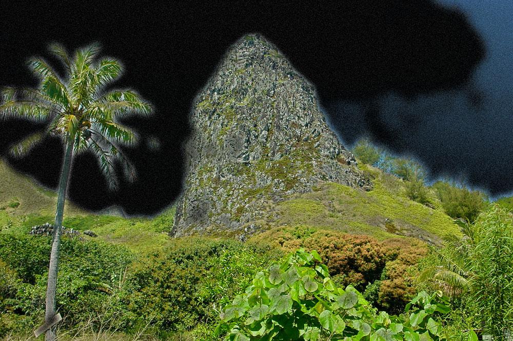 Mont Pahatu de nuit